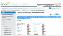 NCCA Maths Resoureces