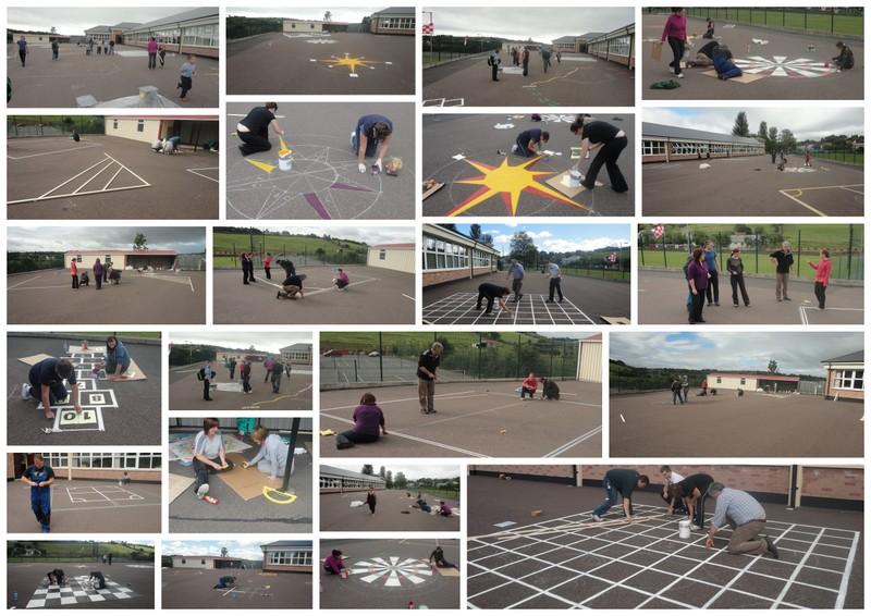 Painting Playground games
